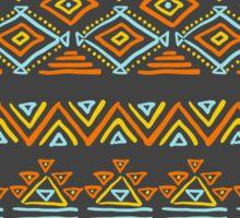 Seamless abstract geometric pattern Sticker