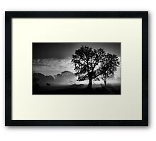 In Light We Praise Framed Print