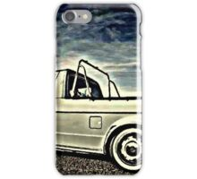 Caddy stop iPhone Case/Skin