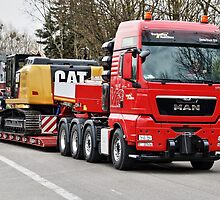 MAN TGX 41.680 8×4 Heavy Duty Tractor - Trucknology Days by Holger Mader