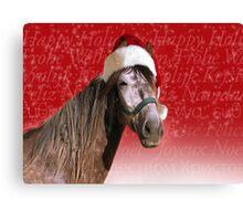 Ho-ho-ho Horse  Canvas Print