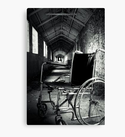 Dessicated Canvas Print