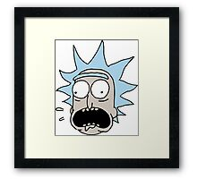 Rick (Rick and Morty) Framed Print