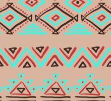 geometric seamless pattern Sticker