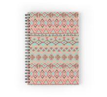 geometric seamless pattern Spiral Notebook