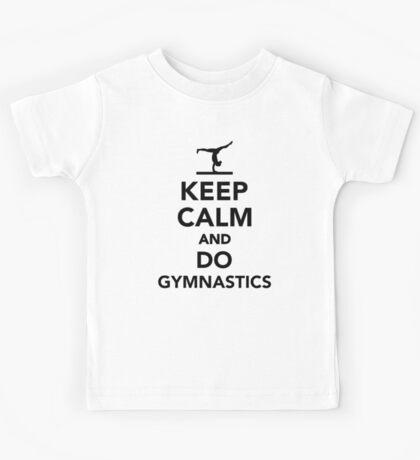 Keep calm and do gymnastics Kids Tee