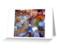 Around the Globe.  Greeting Card