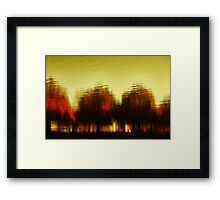 Eleven Shades of Red Framed Print