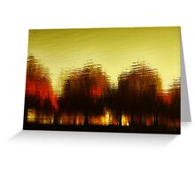 Eleven Shades of Red Greeting Card
