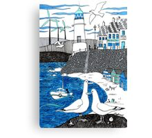 Seaside seagulls from Dover Canvas Print