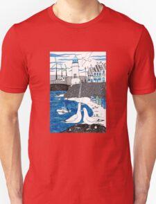 Seaside seagulls from Dover Unisex T-Shirt