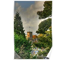 Town House through the trees Poster