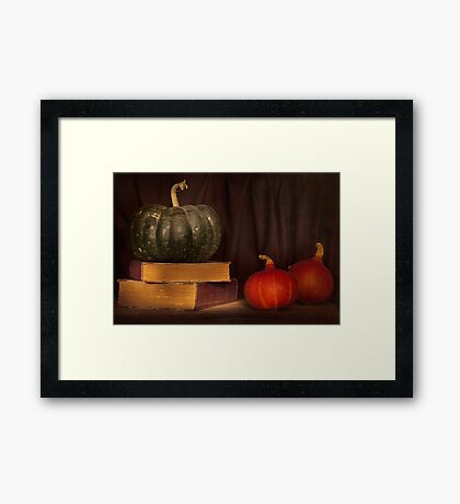 Autumn prose Framed Print