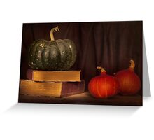 Autumn prose Greeting Card