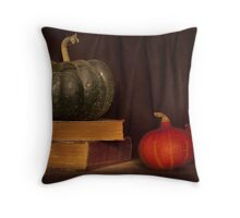 Autumn prose Throw Pillow