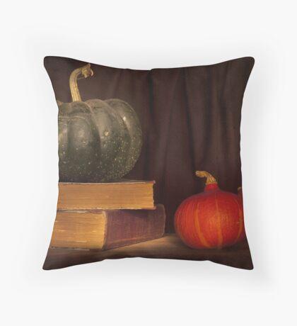 Autumn prose Throw Pillow
