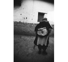 Naxi eithic lady, Lijiang Photographic Print