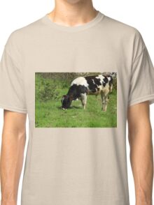 Holstein Cow With Brown Ears Classic T-Shirt
