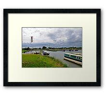 Mercia Marina, Willington Framed Print
