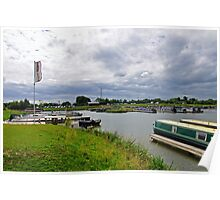 Mercia Marina, Willington Poster