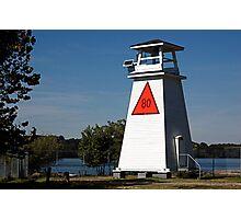 Fort Washington Lighthouse. Potomac River, Maryland. USA Photographic Print