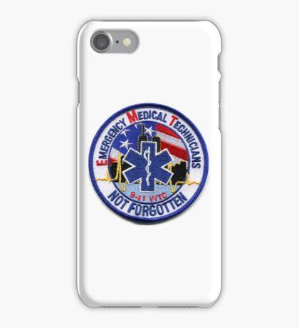 Emergency Medical Technician - New York (911 Commemorative) iPhone Case/Skin