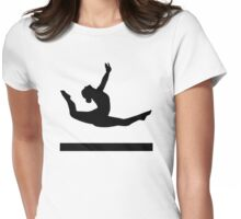 Gymnastics gymnast Womens Fitted T-Shirt