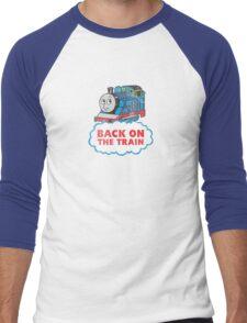 Back on the Train Men's Baseball ¾ T-Shirt
