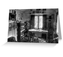 The Writing Shed - Dylan Thomas Greeting Card