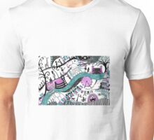 Modern London- illustarted map Unisex T-Shirt