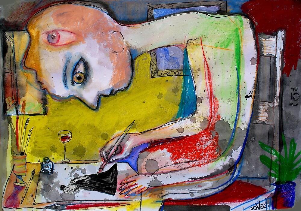 inner sanctum by Loui  Jover