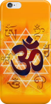 iPhone Case - PHONE OM by Ginny Schmidt
