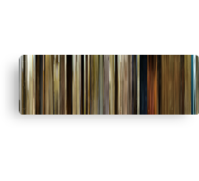 Moviebarcode: O Brother, Where Art Thou? (2000) Canvas Print