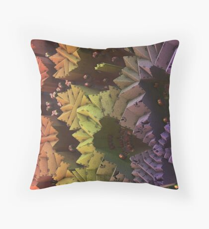 Critters In Hiding Throw Pillow