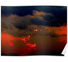 Demon sky Poster