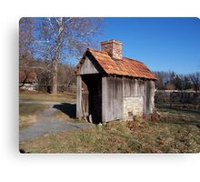 Landis Valley Cooking Shed II Canvas Print