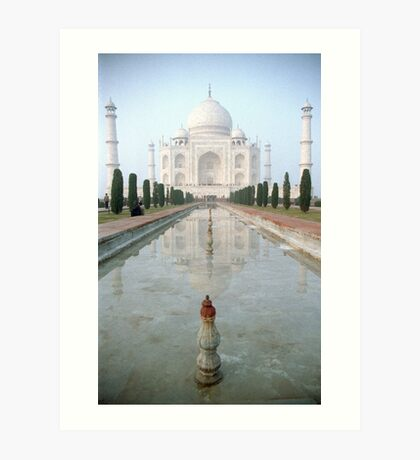 The Taj Mahal Art Print