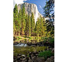 El Cap Reflections Photographic Print