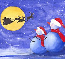 Santa's Helpers by vickie blair
