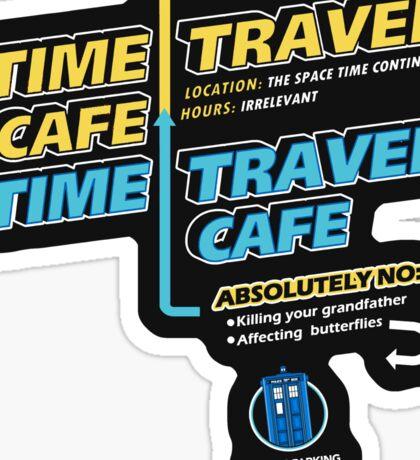 Time Travel Cafe Sticker
