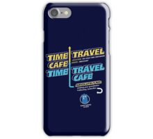 Time Travel Cafe iPhone Case/Skin