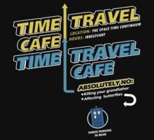 Time Travel Cafe One Piece - Long Sleeve