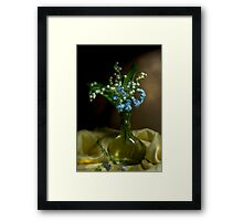 It was a Spring Day Framed Print