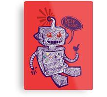 Beep Boop! Metal Print