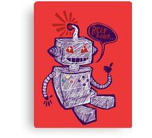 Beep Boop! Canvas Print