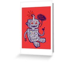 Beep Boop! Greeting Card