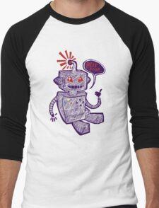 Beep Boop! Men's Baseball ¾ T-Shirt