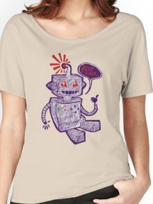 Beep Boop! Women's Relaxed Fit T-Shirt