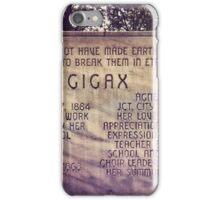 Cigax Monument iPhone Case/Skin