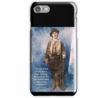 Billy the Kid Speaks iPhone Case/Skin